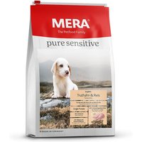 12,5 kg | Mera | Puppy Truthahn & Reis Pure Sensitive | Trockenfutter | Hund