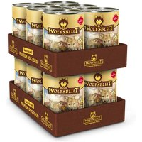 12 x 395 g | Wolfsblut | Wild Duck & Turkey Puppy | Nassfutter | Hund