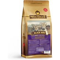 2 kg | Wolfsblut | Black Bird Large Breed Puppy | Trockenfutter | Hund