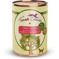 24 x 400 g | Terra Canis | TREE Lover Save the PLANET | Nassfutter | Hund