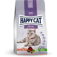 4 kg | Happy Cat |  Atlantik Lachs Senior | Trockenfutter | Katze