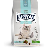 4 kg | Happy Cat | Haut & Fell Sensitive | Trockenfutter | Katze
