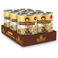 6 x 395 g | Wolfsblut | Wild Duck & Turkey Puppy | Nassfutter | Hund