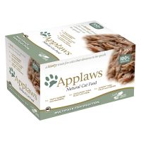 Applaws Cat Pot Probierpack  8 x 60 g - Fischauswahl